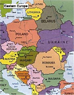 Europa Est Cartina.Est Europa Jpg