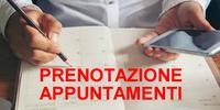 Prenotazione appuntamenti online