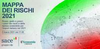 SACE  ha presentato la Risk & Export Map 2021 per le imprese italiane