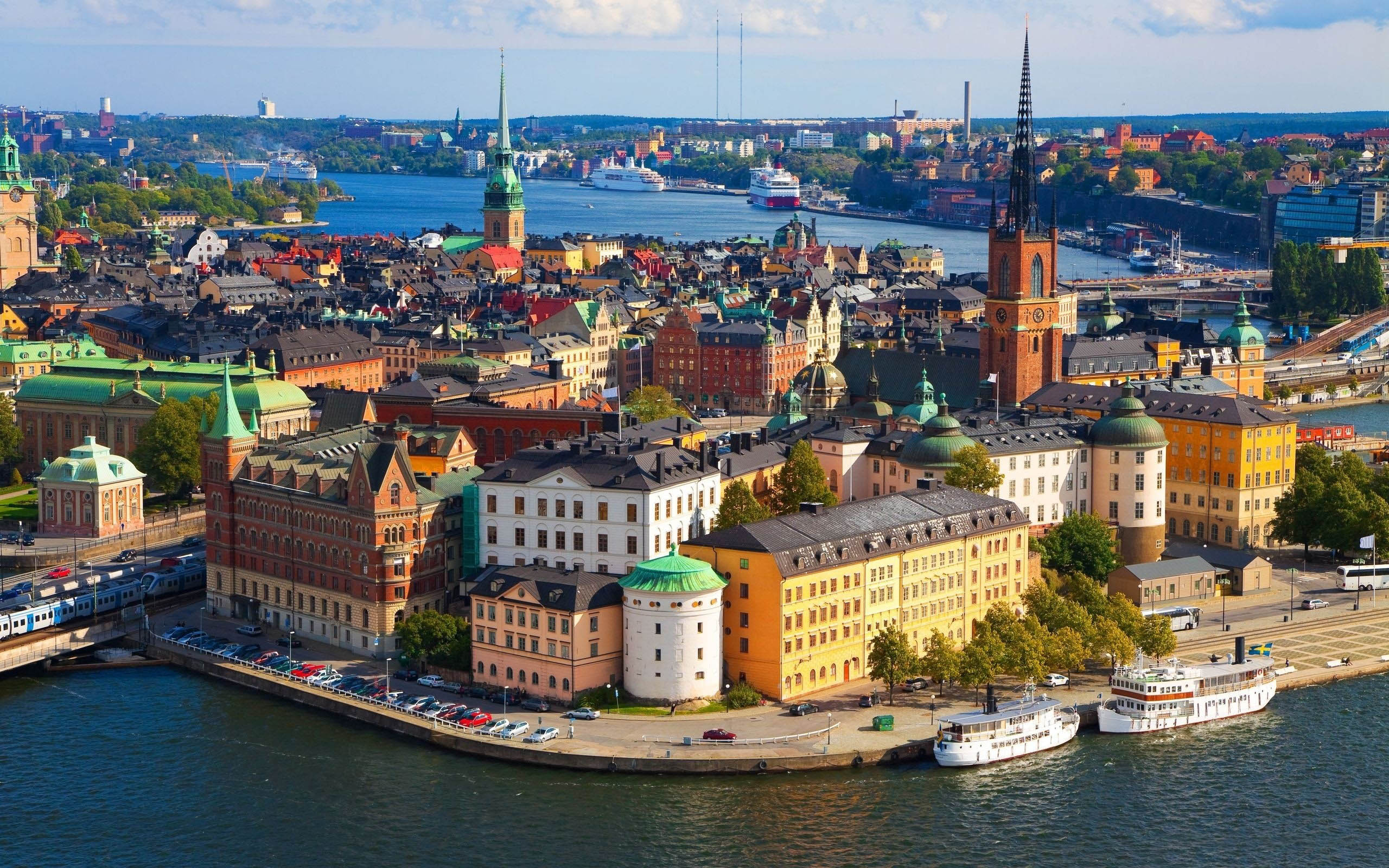 Incontri con la delegazione svedese al salone del mobile