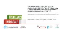 Sponsorizzazioni e ADV per promuovere la vostra attività: 3 marzo webinar gratuito per le PMI