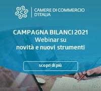 Registro Imprese, campagna Bilanci 2021 e novità: 14 maggio ultimo webinar