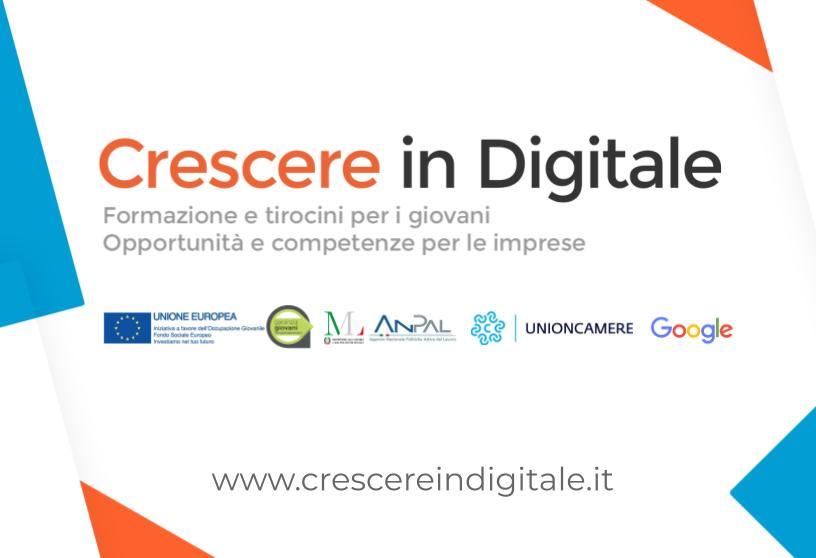 """Riparte """"CID - Crescere in Digitale"""" per migliorare la presenza online delle pmi: un'opportunità per imprese e giovani. Le aziende interessate sono pregate di comunicarlo in vista del prossimo laboratorio di fine novembre"""
