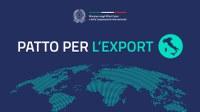 Patto per l'Export - strumenti e opportunità per le PMI: presentato il 4 settembre