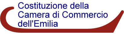 Costituzione della Camera di commercio dell'Emilia