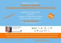 """""""Dialogo coi cittadini, elezioni europee: un esercizio consapevole di cittadinanza"""". Il 26 marzo interverrà in Camera di commercio Bruno Marasà, direttore dell'Ufficio di Milano del Parlamento europeo."""