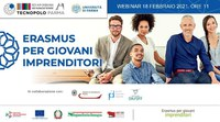 Erasmus per giovani imprenditori: realizzato webinar insieme a Tecnopolo dell'Università di Parma