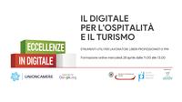 Formazione: il digitale per il turismo e l'ospitalità. Webinar gratuito il 28 aprile