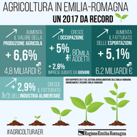 Presentato il rapporto 2017 dell'Osservatorio agroalimentare Emilia-Romagna