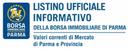Pubblicato l'ultimo listino della Borsa Immobiliare di Parma
