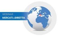"""#RiparticonICE: """"Mercati in diretta"""", i webinar sui Paesi di maggior interesse per l'export italiano, fino al 15 maggio"""