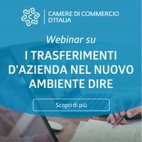 """Registro Imprese, realizzati webinar per notai: """"I trasferimenti d'azienda per il nuovo ambiente DIRE"""""""