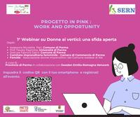 Progetto IN PINK, lavoro e opportunità: la parità di genere nel contesto lavorativo di Parma, 13 novembre. ONLINE LE SLIDES presentate dal Comitato imprenditoria Femminile di Parma
