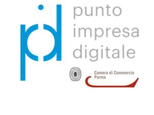logo PID CCIAA Parma BLU