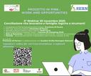 """Progetto IN PINK, lavoro e opportunità: """"Conciliazione vita lavorativa e famiglia: logiche e strumenti"""", 20 novembre"""