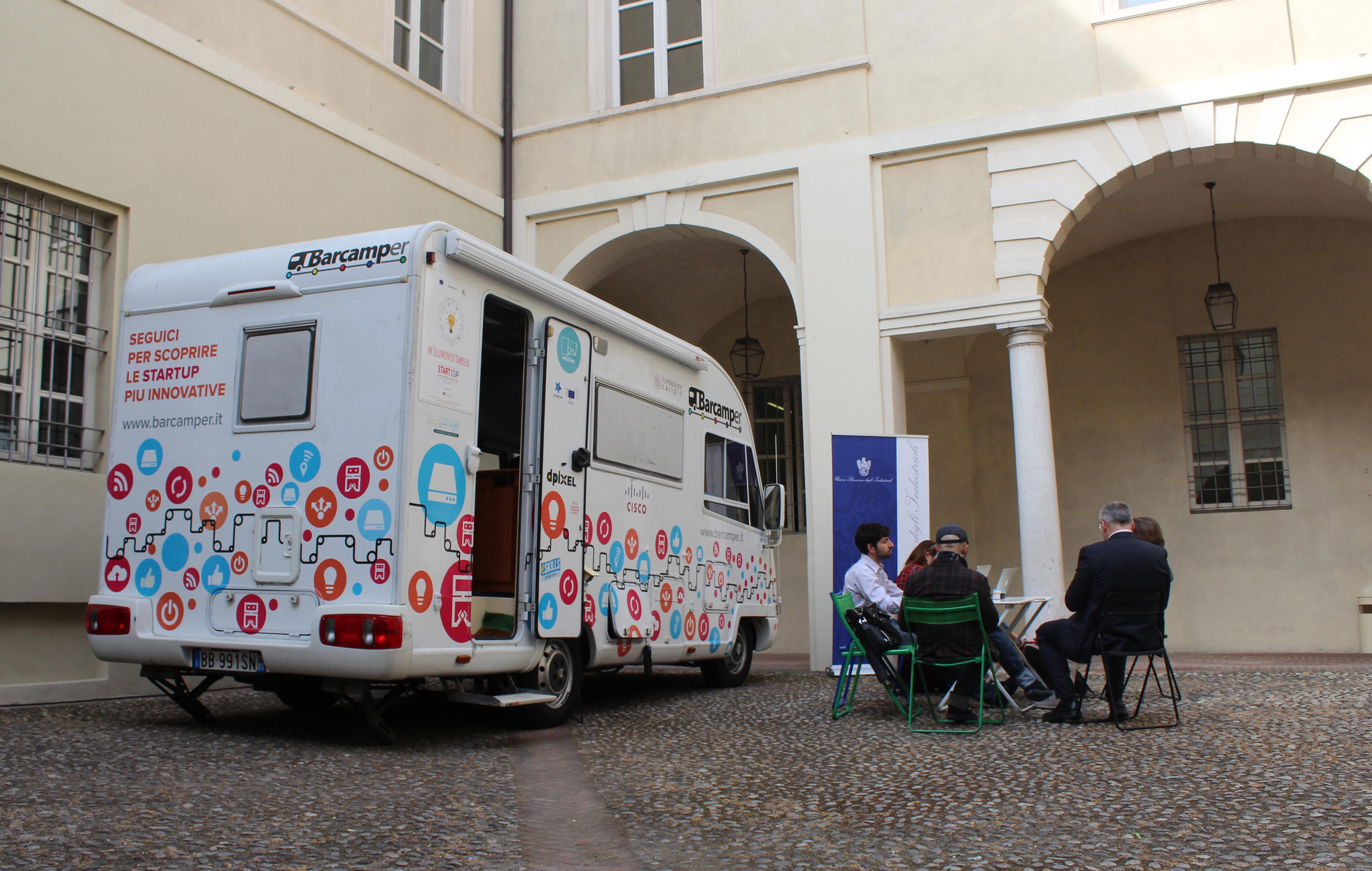 Start Cup Emilia-Romagna 2018: lo scouting tour per i progetti d'impresa innovativi ha fatto tappa a Parma il 18 aprile