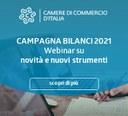 Campagna Bilanci 2021, novità e nuovi strumenti:  4 webinar gratuiti per imprese e professionisti